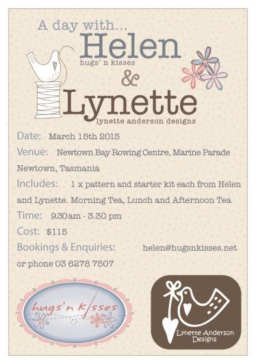 Helen and lynette Flyer15