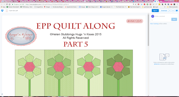 Hugs From Helen Epp Quilt Along