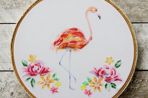 Bev flamingo
