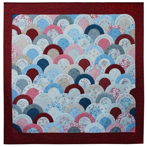 Home Sweet Home Block of the month quilt