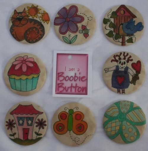 Boobie Buttons