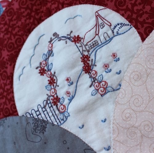 Vintage inspired embroideries