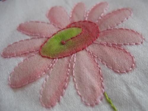 Colourque'd daisy
